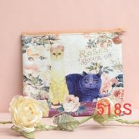 バックインポーチS猫 薔薇雑貨、518S