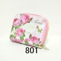 ローズ ウォレット かわいい、癒し、ギフトにセットで ノベルティグッズ、薔薇雑貨801