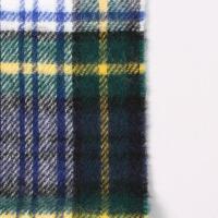 GLEN PRINCE グレンプリンス  LAMBSWOOL TARTAN SCARF - DRESS GORDON マフラー ユニセックス