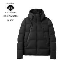 DESCENTE ALLTERRAIN デサント オルテライン  MOUNTAINEER - BLACK 水沢ダウン マウンテニア ダウンジャケット メンズ