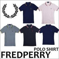 FREDPERRY(フレッドペリー) Slim Fit Twin Tipped Shirt(半袖ポロ...