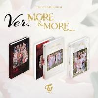 TWICE - MORE & MORE CD 韓国盤 バージョン選択可能