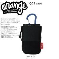 Oran'ge IQOS Case 1001BLACK オレンジ アイコスケース オールインワン ケ...