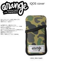 Oran'ge IQOS Cover 2028 ORG CAMO オレンジ アイコスケース ネオプレ...