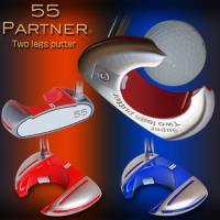 55PARTNER(ゴーゴーパートナー)Super Two legs putter(スーパーツーレッ...