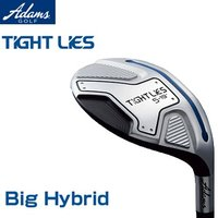 Adams Golf(アダムスゴルフ)日本正規品TIGHT LIES(タイトライズ)ビッグハイブリッド(ユーティリティ)タイトライズ専用TL-2カーボンシャフト