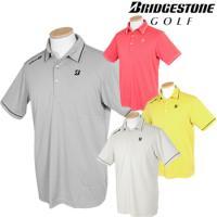 BridgestoneGolfブリヂストンゴルフウエア 春夏ウエア 半袖台付共衿シャツ 3GJ04A