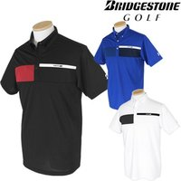 BridgestoneGolf ブリヂストンゴルフウエア 春夏ウエア 半袖ボタンダウンシャツ JGM02A