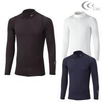 C3fit(シースリーフィット) ゴルフウエア クーリング タートルネック長袖シャツ 3F08110