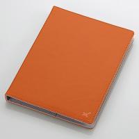 ■手帳タイプで装着したままタブレットを使用できる!8.5〜10.5インチのタブレットに対応し、高級感...