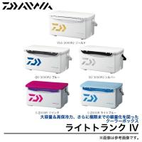 【DAIWA LIGHT TRUNK 4】  大容量&高保冷力、さらに極限までの軽量化を図ったクーラ...
