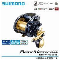 ●品番:Beast Master 6000  ●ギア比:3.1  ●最大ドラグ力(N)/(kg):2...