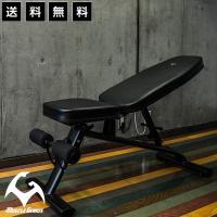 トレーニングベンチ 折りたたみ 筋トレ インクライン デクライン 耐荷重300kg 送料無料 Muscle Genius マッスルジーニアス MG-TB01