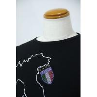 SS30%OFF USUALIS   ウザリス M-2Lサイズ 半袖Tシャツ 74-2502-60-05 HT*M  HT*L HT*2L|f-shop1975