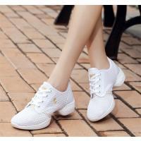 送料無料!チアリーディング レディースダンスシューズ 女性靴 通気性 ジャズダンススニーカー 4colors 小さいサイズ 大きいサイズ