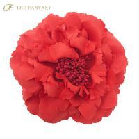 コサージュ 入学式 コサージュ フォーマル 2way ヘッドドレス 牡丹 コサージュ 赤 結婚式 髪飾り fh7003rd