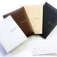結婚式 芳名帳 ゲストブック シート カード チェキ バインダー式 リング式