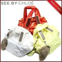 ポイントキャンペーン中! ブランド名:SEE BY Chloe/シーバイクロエ  商品:ハンドバッグ...