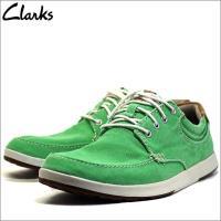 ブランド名:クラークス/Clarks 商品:靴 品番:cl26106145 カラー:グリーン 素材:...