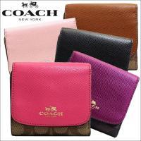 ポイントキャンペーン中!ブランド:コーチ/COACH商品:財布品番:f53837imeysカーキ×ピ...