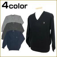 扱いやすいアクリル・ウール混のセーターです。 ウールが30%入っているので保温性も良く、アクリル混な...