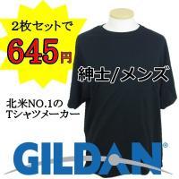 北米マーケットシェア1位のGILDANの無地Tシャツが入荷しました!!  2枚セットで激安の645円...