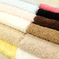 風合いやわらかく、フワッと仕上がった生地です。  ◆生地巾 約150cm ◆素材  ポリエステル10...