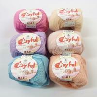 数種の羊毛をブレンドする事により、ハリとコシを再現。 スタンダードな並太の毛糸で色数も豊富に取り揃え...