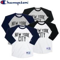 Champion(チャンピオン)のNEW YORK CITYラグラン7分袖Tシャツの入荷です。 こち...