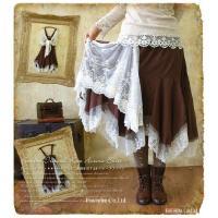 フレアスカート マキシ丈スカート ロングスカート 大きいサイズ レディース