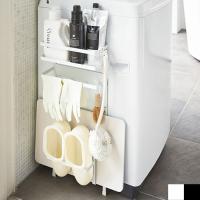 洗濯機横マグネット収納ラック