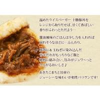 バーガー ライスバーガー 十勝豚丼(120g×2)|fbcreate|04