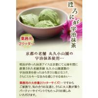アイスクリーム 業務用 明治 ほろにが宇治抹茶2Lアイス(2リットル)|fbcreate|03