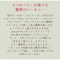 残暑見舞い スイーツ 洋菓子 誕生日ケーキ バースデーケーキ 送料無料 ミックスベリーホールケーキ ギフト(5号/15cm)|fbcreate|03