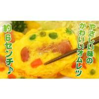 オムレツ お弁当 レンジ ウィンナー入りミニオムレツ(30g×10個)|fbcreate|04