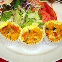 グラタン お弁当 小さなかぼちゃグラタン(35g×6個)簡単調理|fbcreate