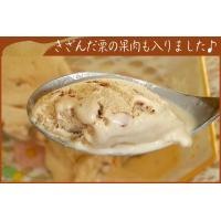 アイスクリーム ラクトアイス 業務用 2リットル明治マロンアイス 秋 スイーツ くり 栗|fbcreate|05