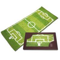 今までになかった、サッカーフィールドをモチーフにしたデザイン! しかも、日本最大の規模のタオル産地、...
