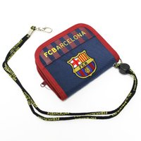 バルセロナのオフィシャルウォレット。  小銭の出し入れが楽チンなラウンドファスナータイプの財布。 ポ...