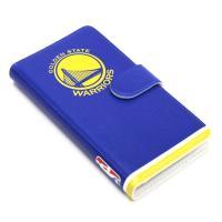 ゴールデンステート・ウォリアーズのiPhone6専用 手帳型カバー。  合皮を使ったち高級感のある作...