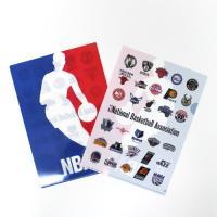 アメリカ合衆国のプロバスケットボールリーグNBAのオフィシャルクリアファイル。  表面にNBAロゴ、...