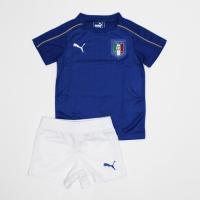 イタリア代表 2016-17シーズン ミニキット。キッズ専用シャツ、パンツの2点セット。  ■商品仕...