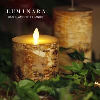 LUMINARA ルミナラ バーチピラー3.5×4(キャンドルライト)