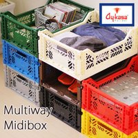 最高級品質のプラスチックケースを製造しているエーワイカーサ社のマルチウェイミディボックスは、コンパク...