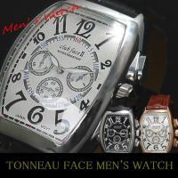 MULLERモデルビザン数字革バンド メンズ腕時計です。 世代を問わず人気のMULLERタイプの腕時...