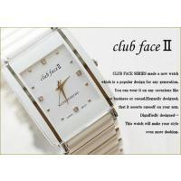 clubfaceRDモデル メンズandレディースウォッチ 腕時計です。 ビジネスにもカジュアルにも...