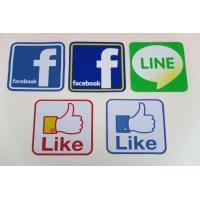 世界中に広まったSNS。 遊び心満載のステッカー!   ●facebook(フェイスブック) ●LI...