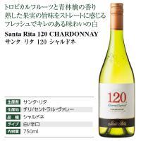 白ワイン チリ サンタ リタ 120(シェント ベインテ) シャルドネ 2018 750ml wine|felicity-y|04
