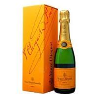 シャンパン フランス ヴーヴ クリコ(ヴーヴクリコ) イエローラベル ブリュット ハーフ 正規 スライドボックス 375ml champagne|felicity-y
