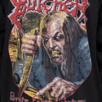 シリアル ブッチャー Serial Butcher メンズ トップス パーカー Brute Force Lobotomy Black